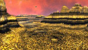 On Mars Huge Gold Deposit Discover