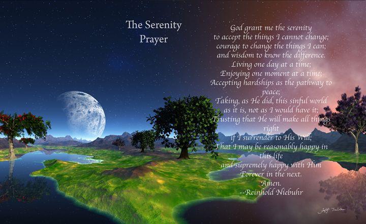 The Serenity Prayer landscape - hgmielke