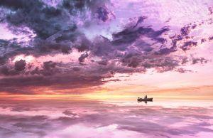 Nature Landscape Boat Ship