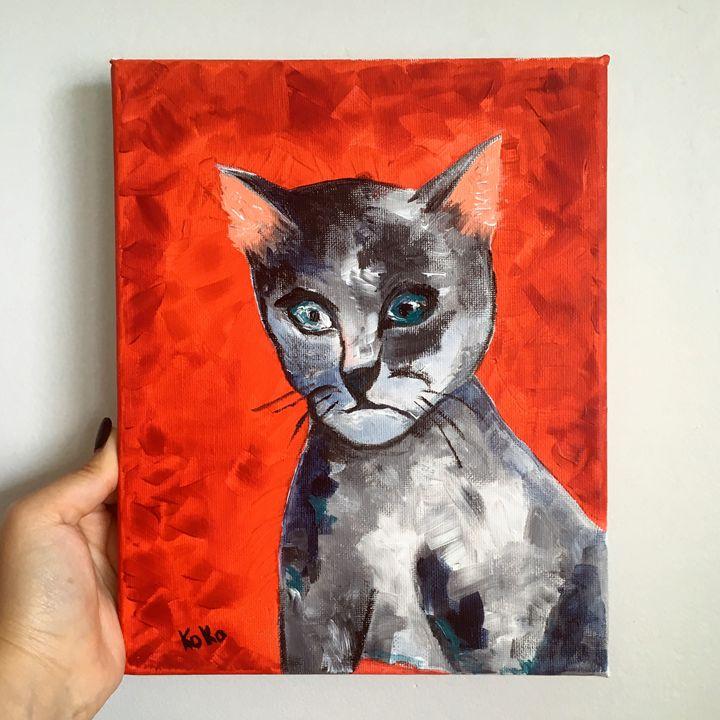 Weird Cat - Natalie Ko Ko