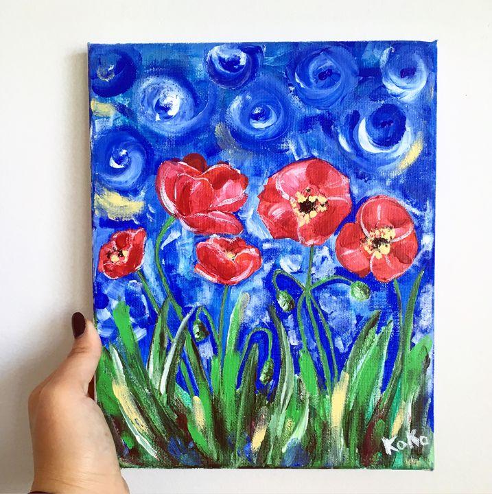 Poppy field - Natalie Ko Ko