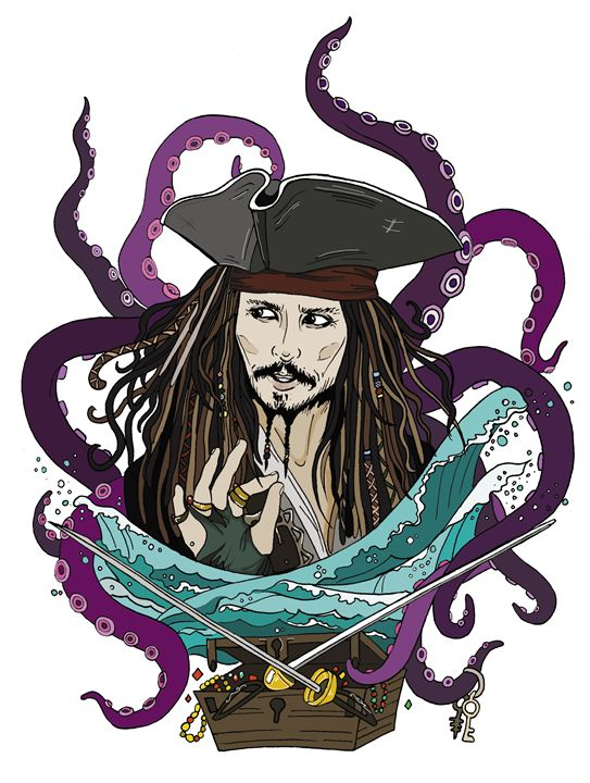 Jack Sparrow - Natalie Ko Ko