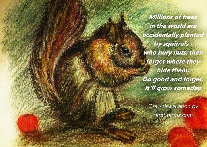 Squirrels for Goodness - Rembrandz
