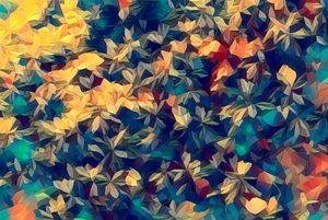 Golden Hued Mosaic