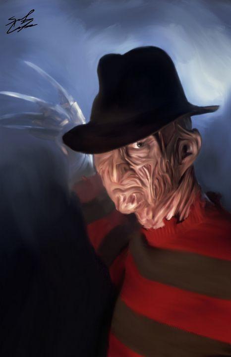 Freddy Krueger - Park Sixx Arts