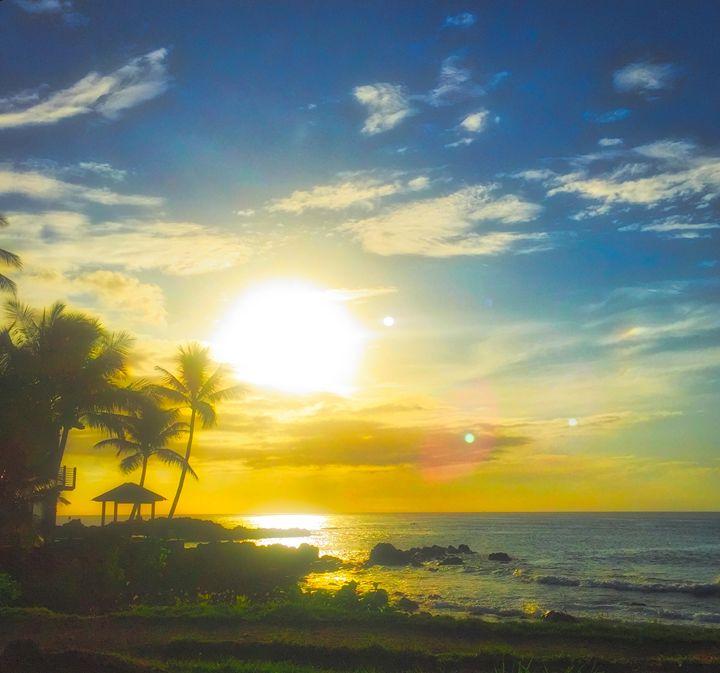 Pacific Sunset - MAE Art Gallery