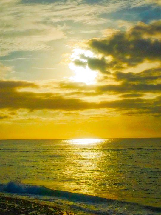 Golden Sunset - MAE Art Gallery