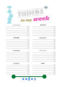 checklist and tracker