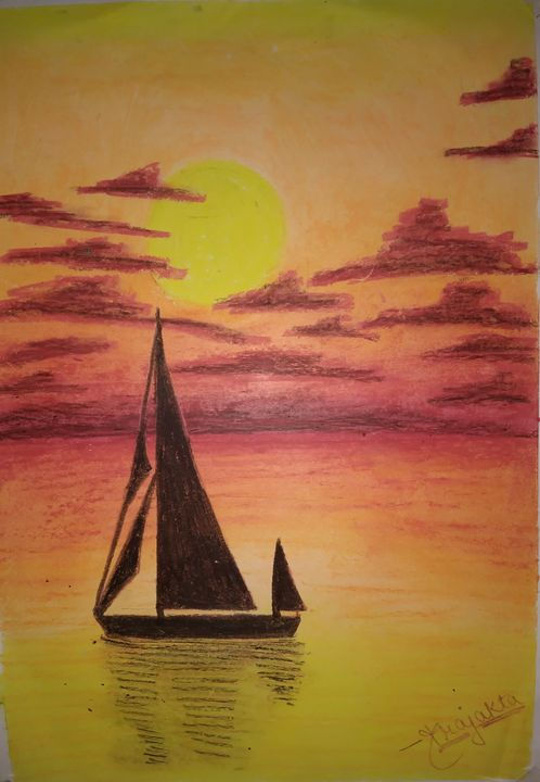 Nightfall sailing - Fusion