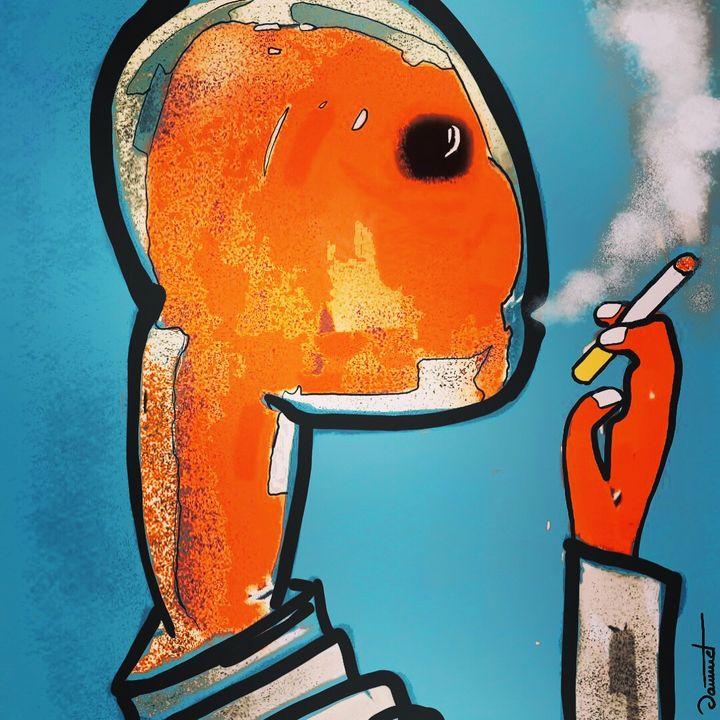 Smoker alien - Didier JAMMET