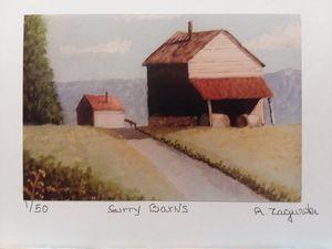 Surry County Barns.
