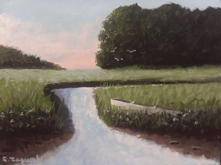 Evening Marsh - Richard Zagurski