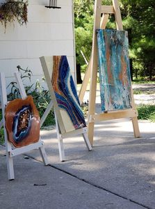 Art on Easels