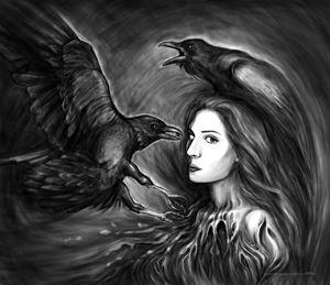 Iris and ravens