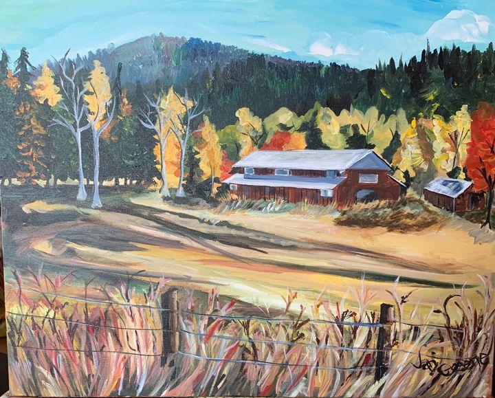 A Farm on Dunn Mountain - JC Greene