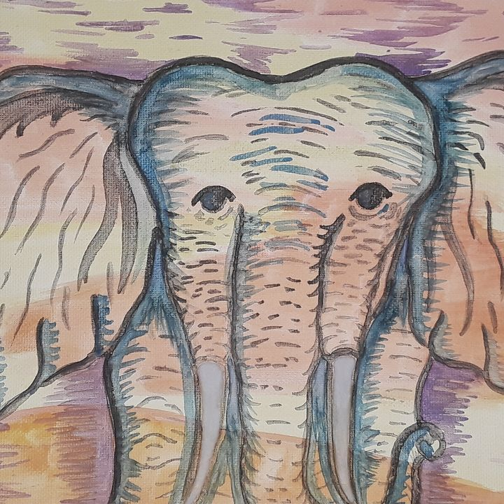 Elephant - Kristi aka drgn