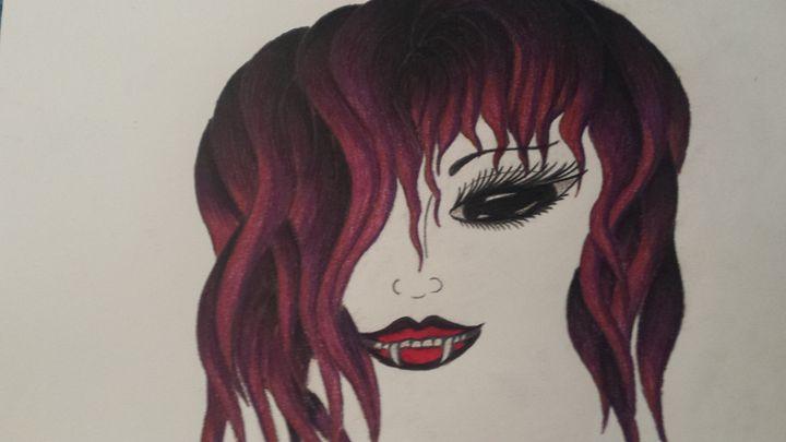Evil beauty - Kristi aka drgn