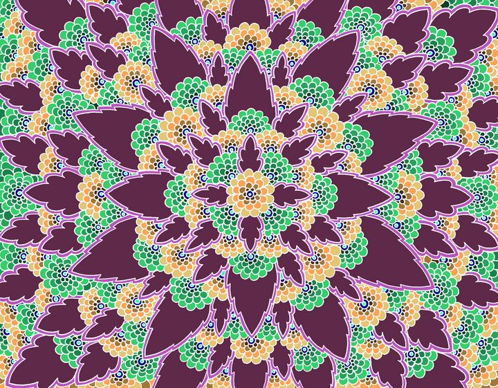 Bloom (Purple) - Henna by Hilary