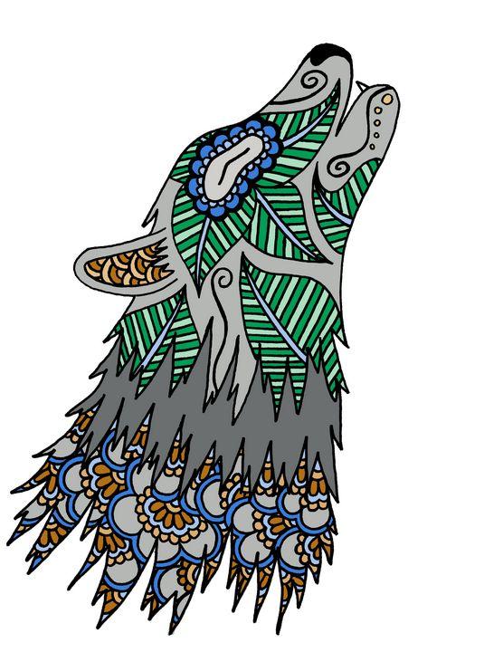 Henna Wolf - Henna by Hilary