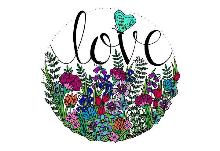 Love - Henna by Hilary