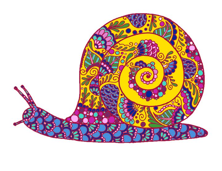 Henna Snail - Henna by Hilary