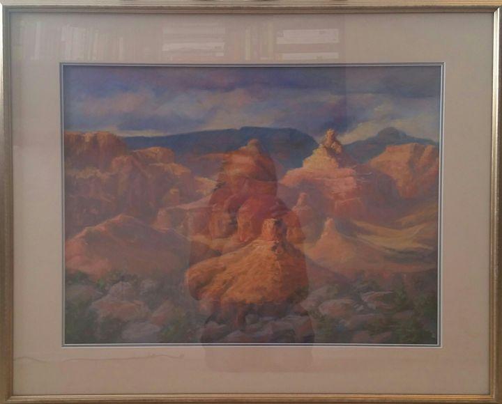 Original painting by Vera Russell - Hernandez Art