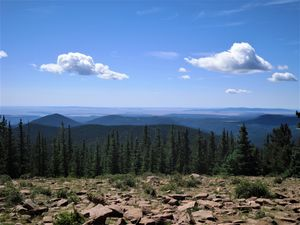 Mountaintop in New Mexico