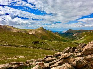 Side of Pikes Peak