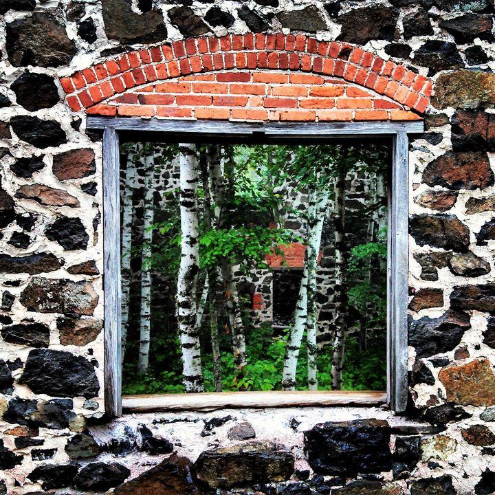Derelict Window - Enlightened Soul Art Gallery