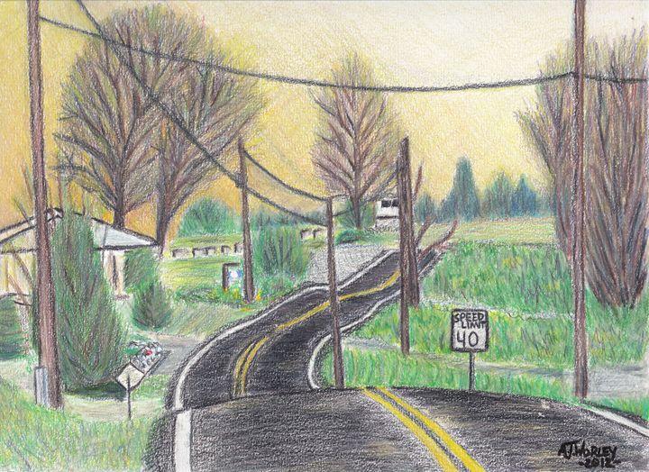 Pennsylvania Country Road - AJ Worley