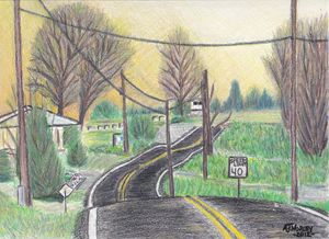 Pennsylvania Country Road - AJ Worley