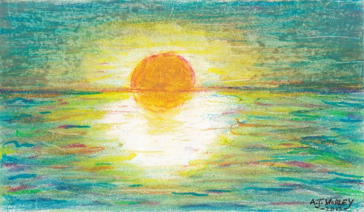Sun on water - AJ Worley