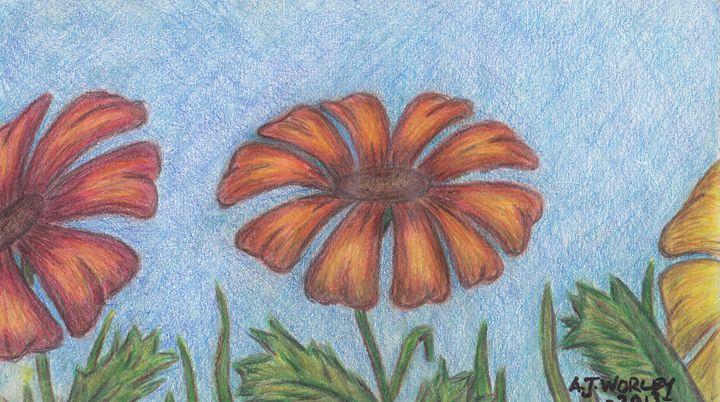 3 Flowers - AJ Worley