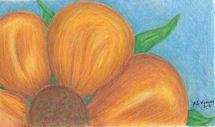 Orange Flower - AJ Worley