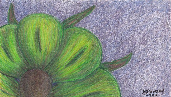 Green Flower - AJ Worley