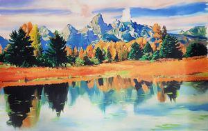 Handmade Oil painting- Nature