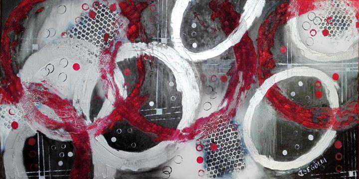Play of circles - Ildikó Csegöldi