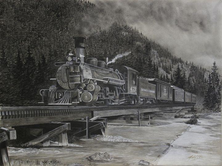 Durango - Silverton Narrow Gauge - Michael A. Davis