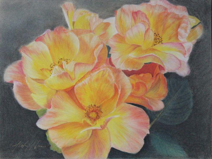 Yellow Roses - Michael A. Davis