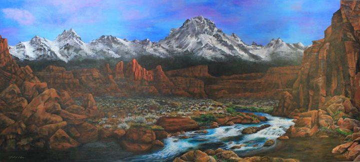 Red Cliff Valley - Michael A. Davis