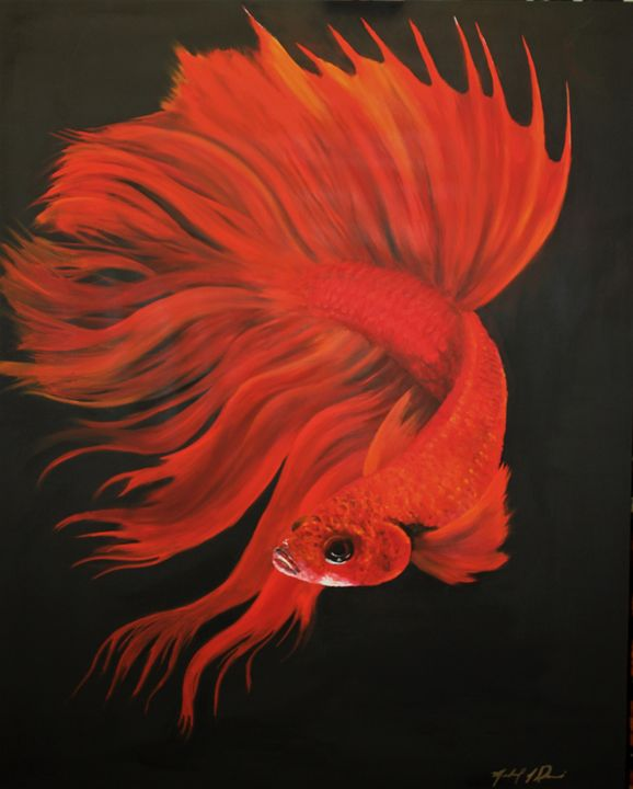 Red Betta - Michael A. Davis