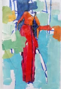 The Entry; a figurative abstract