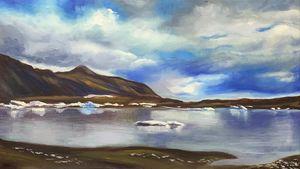 Iceland, glacier