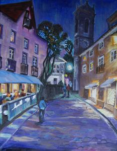 Sintra, night scene