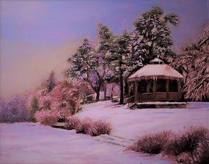 Winter on Mill pond