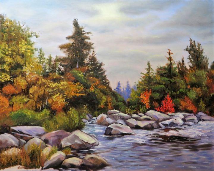 Autumn in Vermont - Fimasart