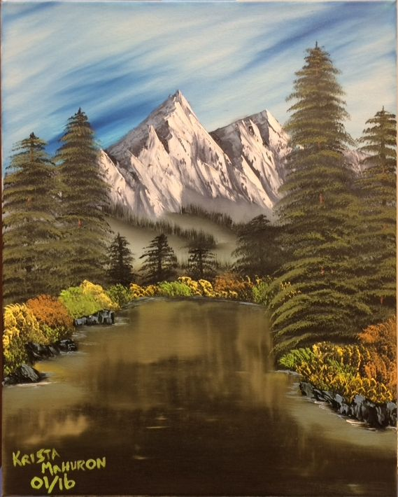 Through the Forest - Krista's Oil Paintings and Photography