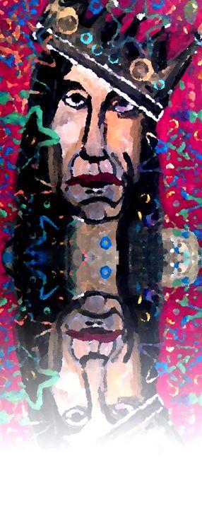 IGGY POP REFLECTION -print *McLaughl - Gregory McLaughlin - Artist