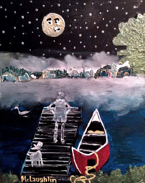 Cassadaga Crossing - Gregory McLaughlin - Artist