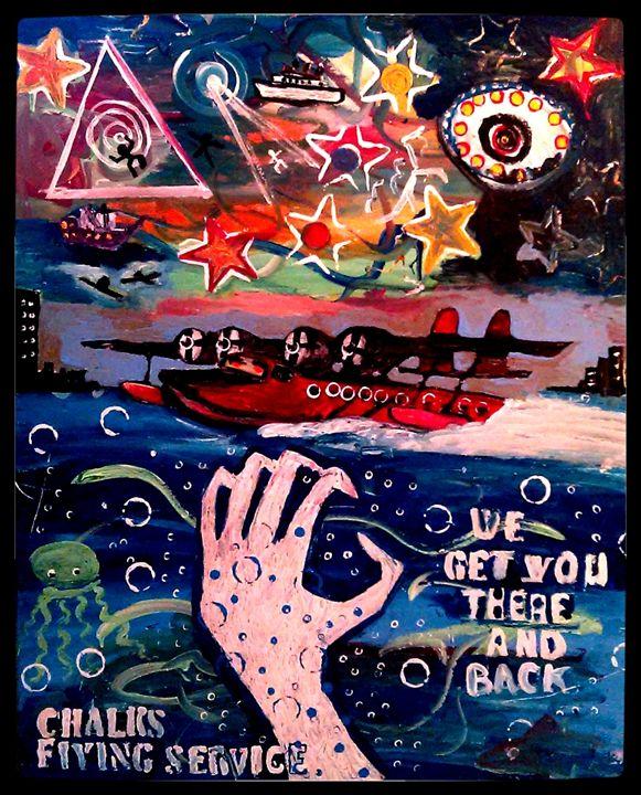 CHALKS FLYING SERVICE - Gregory McLaughlin - Artist